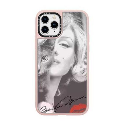 Casetify スマホケース・テックアクセサリー Casetify iphone Gripケース♪Simply Monroe in Pink with cat♪(14)