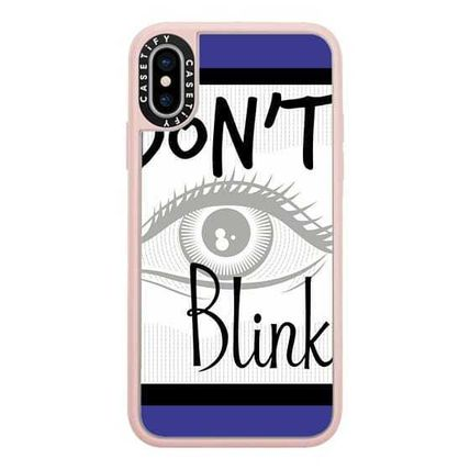 Casetify スマホケース・テックアクセサリー Casetify iphone Gripケース♪Don't Blink Doctor on Blue♪(2)