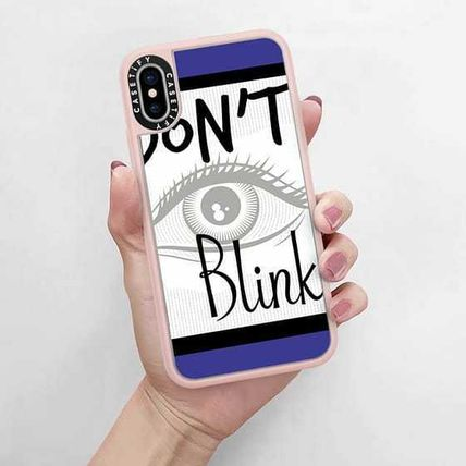 Casetify スマホケース・テックアクセサリー Casetify iphone Gripケース♪Don't Blink Doctor on Blue♪(5)