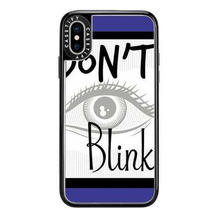 Casetify スマホケース・テックアクセサリー Casetify iphone Gripケース♪Don't Blink Doctor on Blue♪(6)