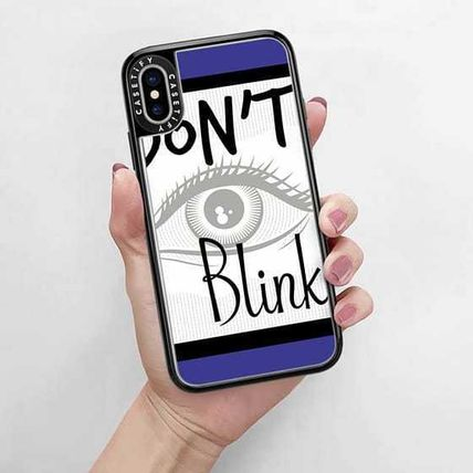 Casetify スマホケース・テックアクセサリー Casetify iphone Gripケース♪Don't Blink Doctor on Blue♪(9)