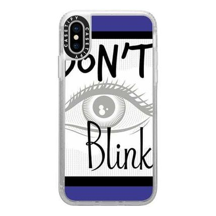 Casetify スマホケース・テックアクセサリー Casetify iphone Gripケース♪Don't Blink Doctor on Blue♪(10)