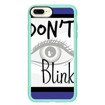 Casetify スマホケース・テックアクセサリー Casetify iphone Gripケース♪Don't Blink Doctor on Blue♪(15)