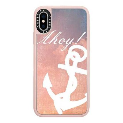 Casetify スマホケース・テックアクセサリー Casetify iphone Gripケース♪Anchor Ahoy Android♪(2)