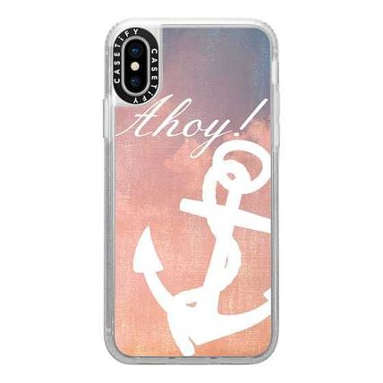 Casetify スマホケース・テックアクセサリー Casetify iphone Gripケース♪Anchor Ahoy Android♪(10)