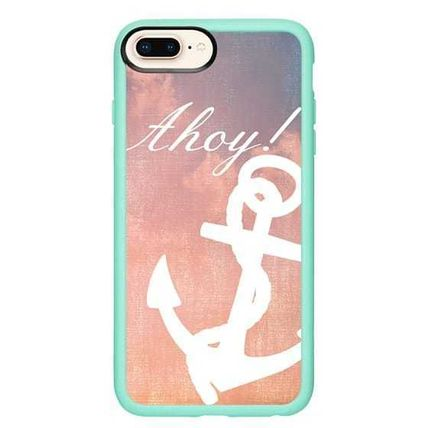 Casetify スマホケース・テックアクセサリー Casetify iphone Gripケース♪Anchor Ahoy Android♪(15)