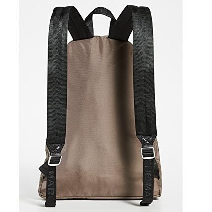 MARC JACOBS バックパック・リュック 関送込*Marc Jacobs*レザートリム*ロゴ*ナイロン*バックパック(4)