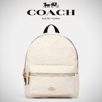 【COACH】MEDIUM CHARLIE BACKPACK シグネチャー F49498