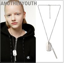 ANOTHERYOUTH★正規品★dog tag necklace ネックレス/安心追跡付