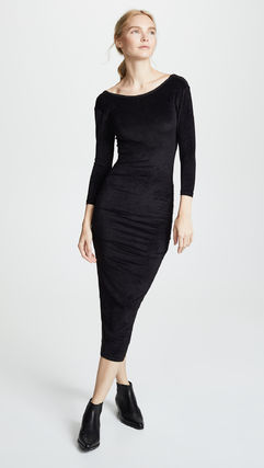 JAMES PERSE ドレス-ロング 関税込み◆Fitted Low Back Dress(2)