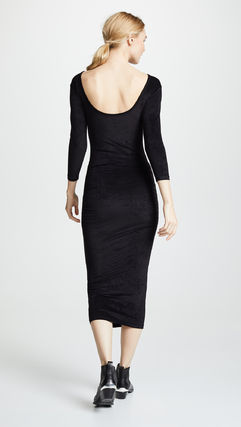 JAMES PERSE ドレス-ロング 関税込み◆Fitted Low Back Dress(3)