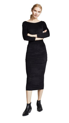 JAMES PERSE ドレス-ロング 関税込み◆Fitted Low Back Dress(7)