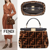 【Fendi】★大人気★ PEEKABOO ICONIC MINI もこもこFF