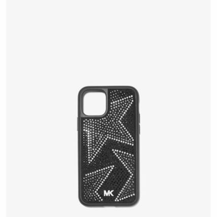 Michael Kors スマホケース・テックアクセサリー *国内発送* MK Embellished iPhone Cover for iPhone 11 Pro(2)