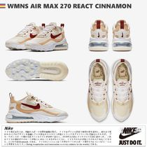 日本未入荷!★WMNS AIR MAX 270 REACT CINNAMON★