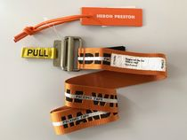 送料無料 ! HERON PRESTON JACQUARD TAPE BELT