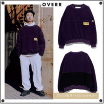 日本未入荷OVERRのESSAY.5 COLOR BLOCKED FLEECE SWEATSHIRTS