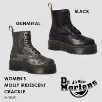 【国内未展開】Dr.Martens・MOLLY IRIDESCENT CRACKLE ブーツ