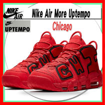 ★ Nike ★ Air More Uptempo Chicago UNIVERSITY RED