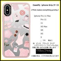 Casetify iphone Gripケース♪Pink makes everything pretty♪