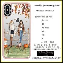 Casetify iphone Gripケース♪Sweater Weather♪
