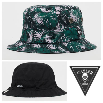 CAYLER&SONS ☆ リバーシブルバケットハットWL Green Jungle