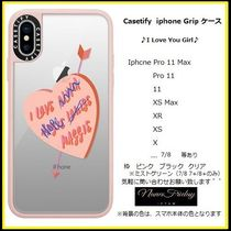 Casetify iphone Gripケース♪I Love You Girl♪