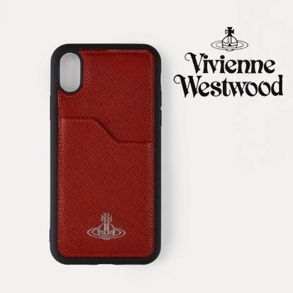 Vivienne Westwood スマホケース・テックアクセサリー 【直営店】Vivienne Westwood IPHONE XS MAX ケース / レッド