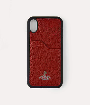 Vivienne Westwood スマホケース・テックアクセサリー 【直営店】Vivienne Westwood IPHONE XS MAX ケース / レッド(2)