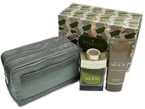 BVLGARI MAN WOOD ESSENCE COFFRET POACH SET -sale