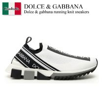Dolce gabbana running knit sneakers
