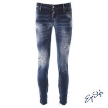JEANS WITH ZIPPED CUFFS