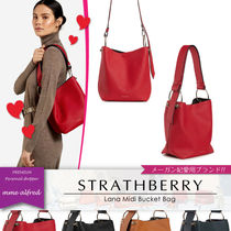 【メーガン妃愛用ブランド】STRATHBERRY ★Lana Midi Bucket Bag