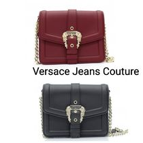 VersaceJeansCouture チェーンショルダークロスボディバッグ 2色
