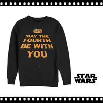 【STAR WARS】US限定★May The Fourth Be With You トレーナー
