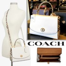 COACH☆Tilly Top Handle サッチェル☆パイソン☆税・送込
