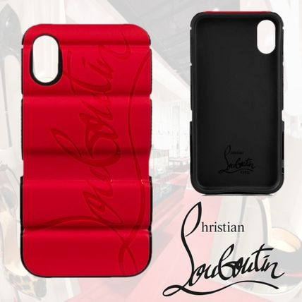 Christian Louboutin スマホケース・テックアクセサリー ★Christian Louboutin★Red-runner レッドランナー Iphone X/Xs