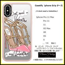 Casetify iphone Gripケース♪I dont need a Valentine♪