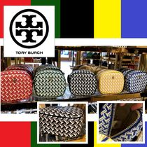 Tory Burch☆TILE T COSMETIC POUCH ポーチ/送・税込
