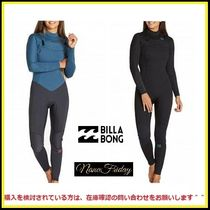 大人気!Billabong Women's Furnace Synergy 3/2Chest Zipウェットスーツ