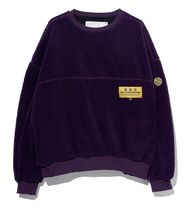 ★OVERR★オベルー★ESSAY.5 COLOR BLOCKED FLEECE SWEATSHIRTS