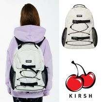 大人気 ★KIRSH★ POCKET SPORTS BACKPACK /IVORY