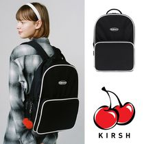 大人気 ★KIRSH★ KIRSH POCKET AIRLINE BAPKPACK /BLACK