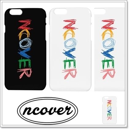 ncover スマホケース・テックアクセサリー NCOVER★Doodle logo case★iPhone ケース