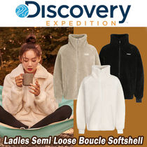Discovery EXPEDITION(ディスカバリー) ジャケット DISCOVERY◆Ladies Semi Loose Boucle Softshell(3色)レディース