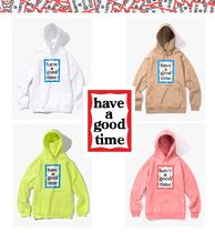 ★HAVE A GOOD TIME★ Blue Frame Pullover Hoodie 4色