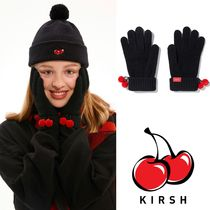 ホリデー限定 ★KIRSH★ CHRISTMAS KNIT BALL GLOVES /BLACK