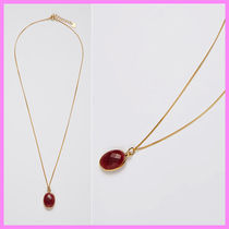 【Hei】oval ruby necklace〜ルビーのネックレス★日本未入荷