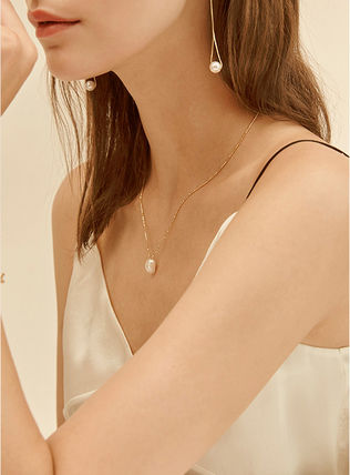 Hei ネックレス・ペンダント 【Hei】natural freshwater pearls necklace〜パールネックレス(5)