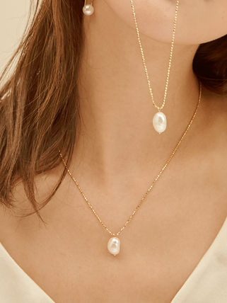 Hei ネックレス・ペンダント 【Hei】natural freshwater pearls necklace〜パールネックレス(8)